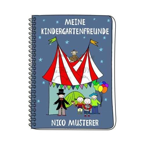 Freundebuch Kindergarten personalisiert mit Name bedruckt
